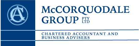 McCorquodale Group PTY LTD logo